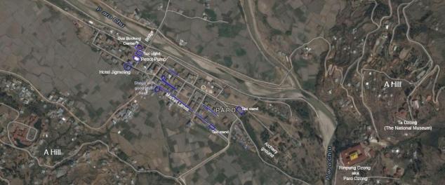 paro map