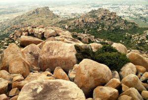 lots of boulders!