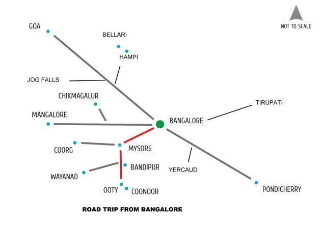 Credit : Diganta Malakar (downloaded for reference from Bangalore Travelers group)